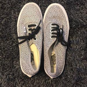 Vans shoes.